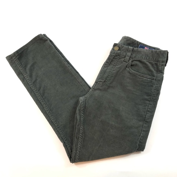 Vineyard Vines Men`s 5 Pocket Straight Fit Corduroy Pants Size 28x32 Men's Clothing